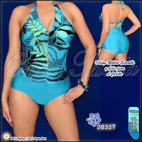 7da0fcf10 Trajes De Baño Plus Size - Trajes de Baño Mujer en Mercado Libre ...