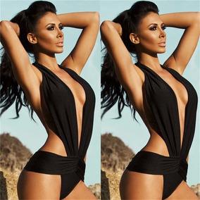 41b5b7a05 Trajes Baño Mujer Vintage Bikini Alto Monokini Talla 5 A 11