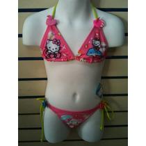 Trajes De Baños Niñas Disney Minnie Princesas Barbie Dora