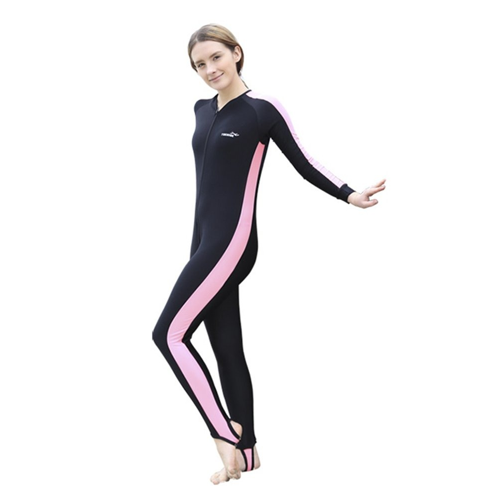 Trajes Adulto Largo Baño Buceo Hombre S Mangas Mujer CxBeEQoWrd