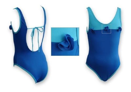 trajes de baño de natación para niñas. tallas 2 y 4.