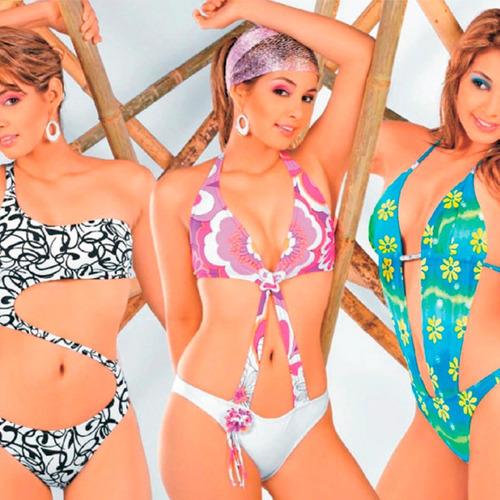 trajes de baño kit patrones bikini trikini ropa intima