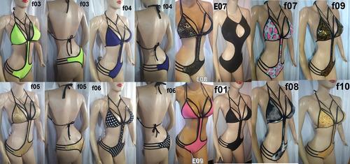 trajes de baños enterizos bodys hilos panty dama