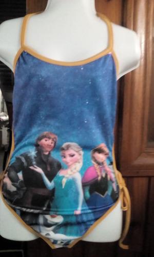 trajes de baños niñassoy luna descendiente frozen disney