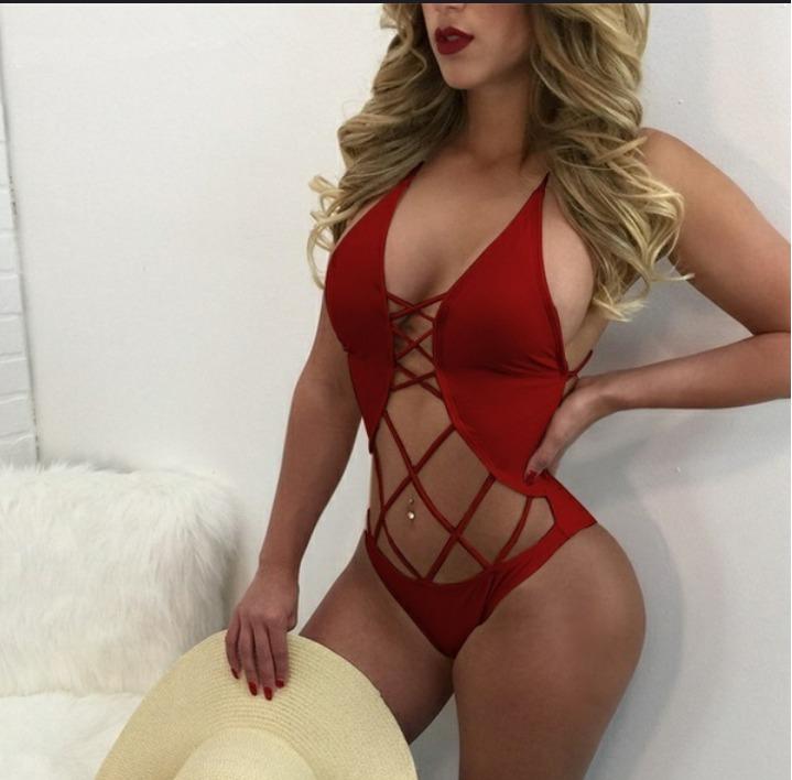 Trajes de ba os sexys vestidos de ba o bodys moda 2018 - Moda en banos ...