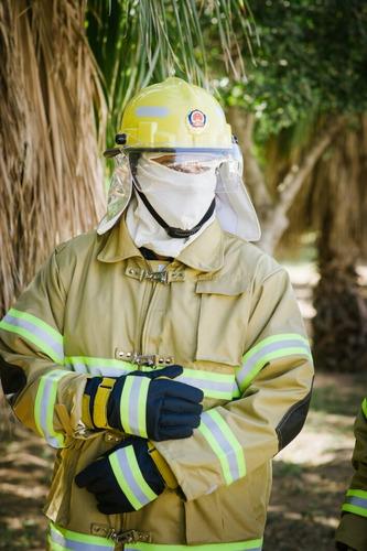 trajes de bombero nfpa  completo tela nomex. nuevo