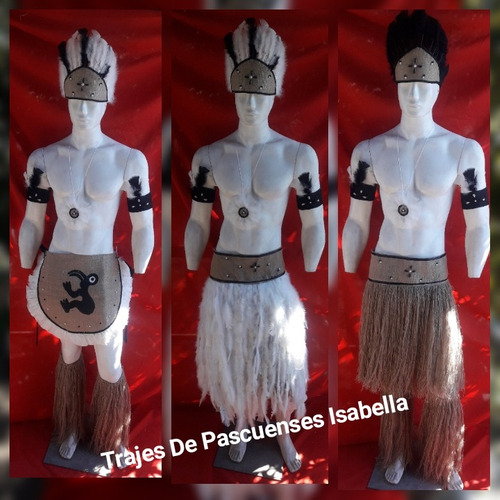 trajes de pascuenses isabella f. a. c. e.