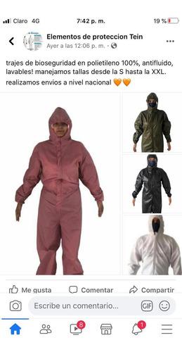 trajes de protección ¡¡