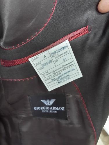 trajes entero giorgio armani original nuevos, super precio