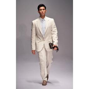 fe11232554f8d Traje En Lino Blanco Hombre Usado en Mercado Libre Colombia