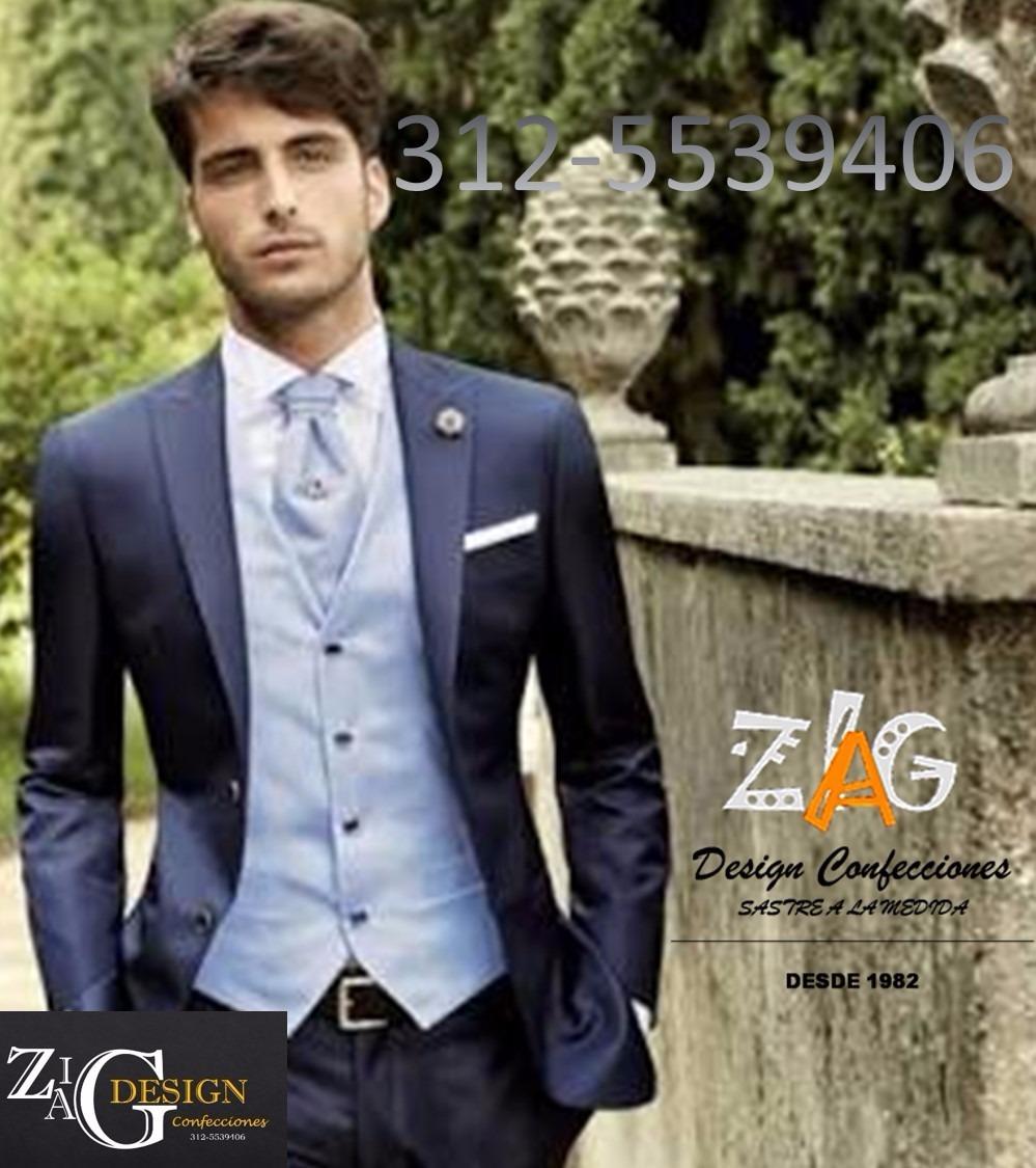 898b4f32d Trajes Novio Matrimonio Slim Fit Italiano Moderno -   650.000 en ...