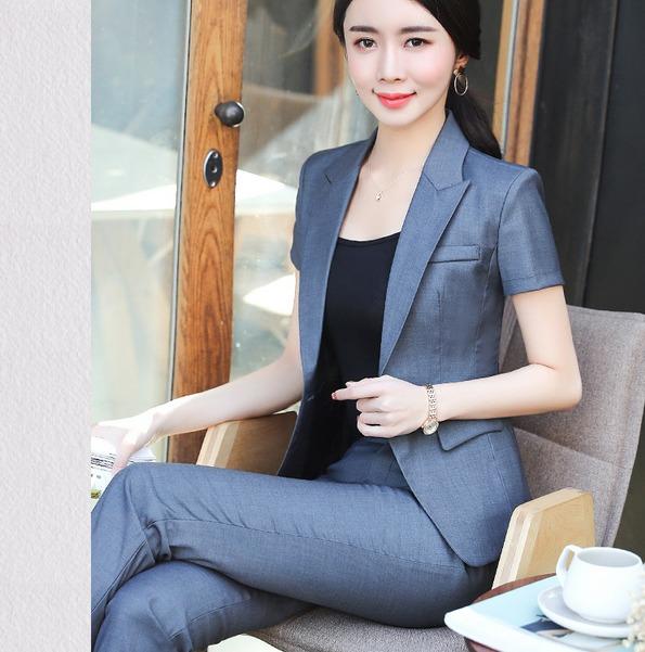 94018b40772 Trajes Para Dama Blazer + Pantalón Slim Fit Formal Tendencia - U S ...
