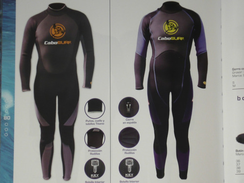 trajes para surf , nado abierto, ski acuatico , windsurf