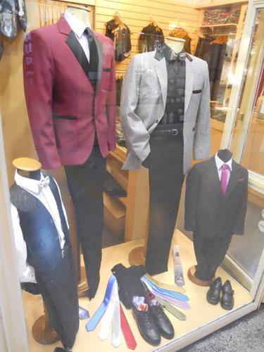 trajes y ambos para niños y adolescentes. venta y alquiler.