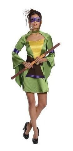trajes,deseos secretos teenage mutant ninja turtles dona..