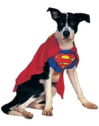 trajes,disfraz para perro traje de superman para mascota..