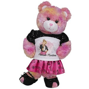 trajesito de hannah montana build a bear coleccionable