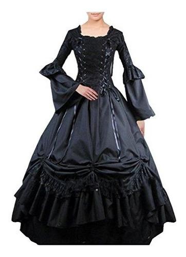 trajespartiss mujer lolita clásico vestido de cosplay tra..