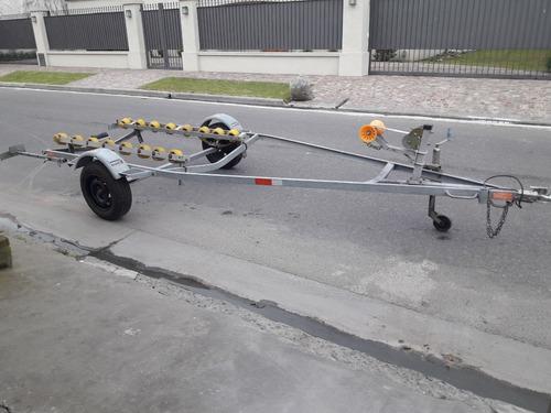 traker 450 c/ yamaha enduro 25hp y trailer mactrail 2019