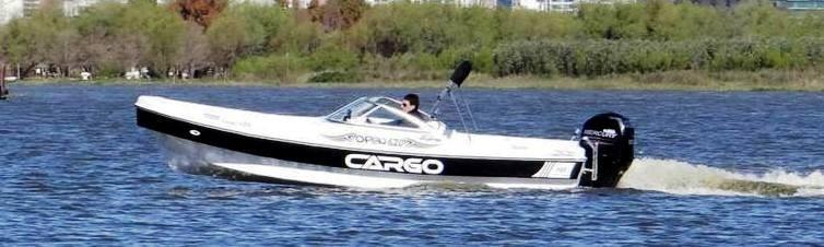 Traker Cargo 620 Open  Solo Casco