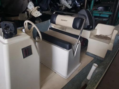 traker naval center 520 201 con suzuky 40hp 2t poco uso 2000