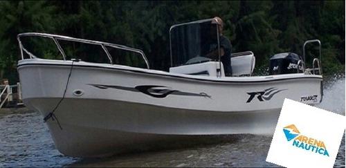 trakker 5,20 con mercury 50 2 t excelente embarcaciòn