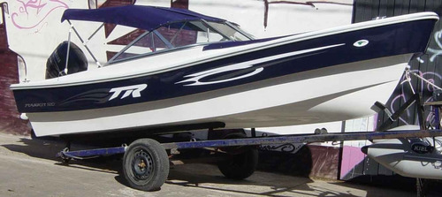 trakker 520 open full con yamaha 40hp eléctrico - renosto