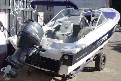 trakker 520 open full con yamaha 50hp 4 tiempos full renosto