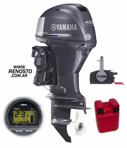 trakker 520 pescador con yamaha 40hp 4 t efi full - renosto