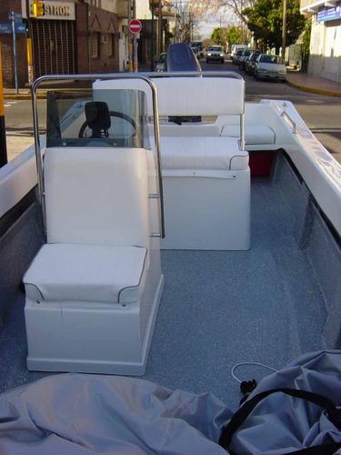 trakker 520 pescador con yamaha 40hp power trim - renosto