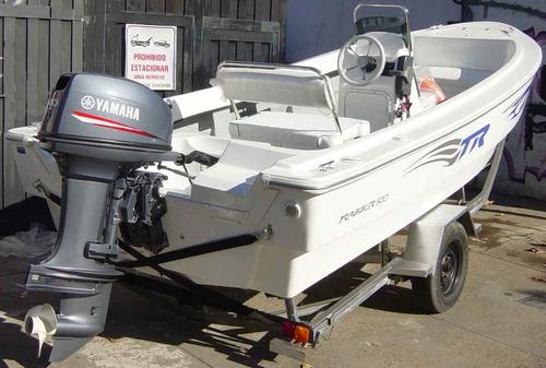trakker 520 pescador con yamaha 50hp 4 t carb full - renosto