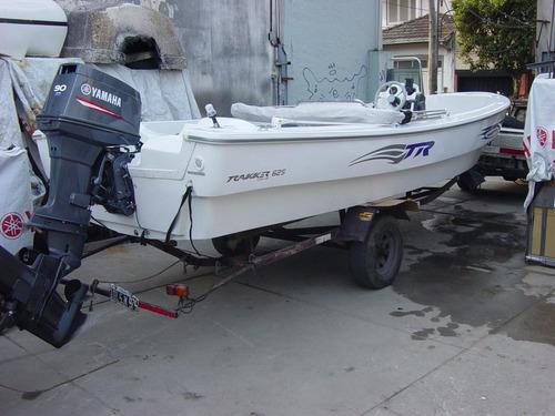 trakker 625 pescador con yamaha 60hp 2t full - renosto