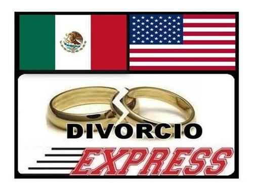 tramita tu divorcio en méxico desde estados unidos