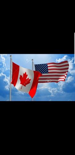 trámites de visa , pasaporte y permiso eta para canadá