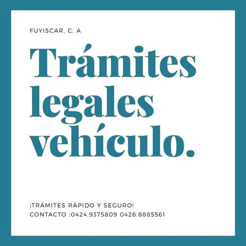 trámites legales para vehículos