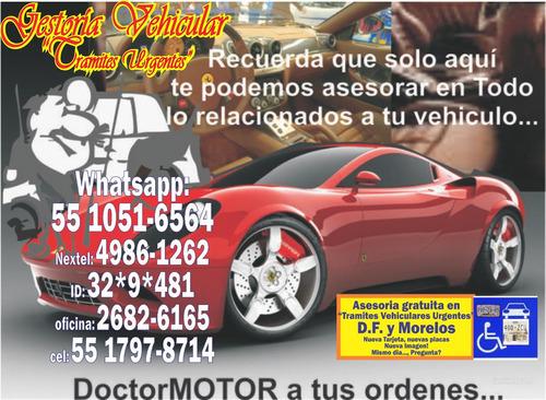 tramites vehiculares, asesoreria gratuita