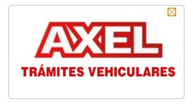 tramites vehiculares axel/permisos por 30 días $250