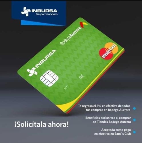 tramito tu tarjeta de crédito inbursa