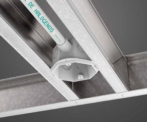 tramo de caño 20mm (3/4) pvc doblado en frío tubelectric