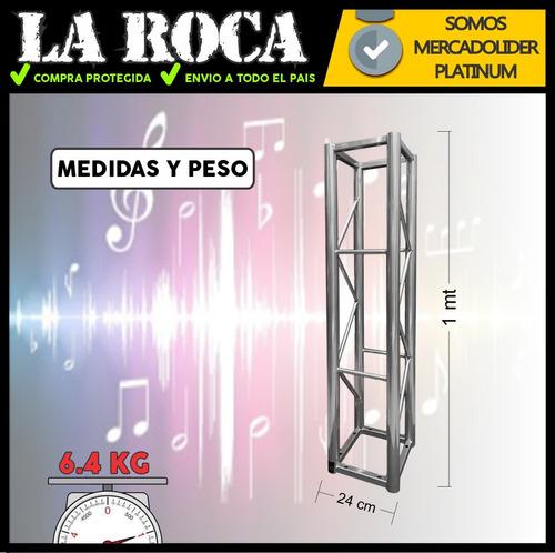 tramo estructura truss 1 metro ideal luces jk4 k941g2