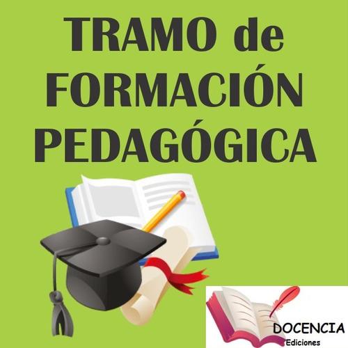 tramo pedagogico medio y superior - para pcia bs as