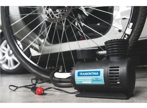 tramontina mini compressor de ar portátil 300psi 50w 12v