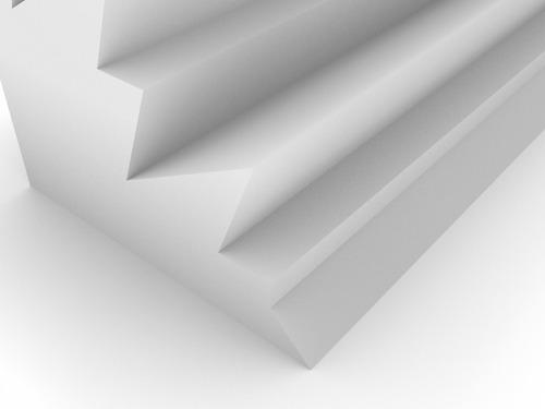 trampa d graves esquinero ignífuga alpine 220x220x610 blanco