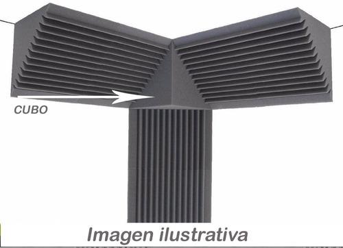 trampa de graves 240x240 x50mm (juego completo p/ángulos)kit