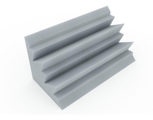 trampa de graves para esquinas ignífuga alpine 220x220x610 gris
