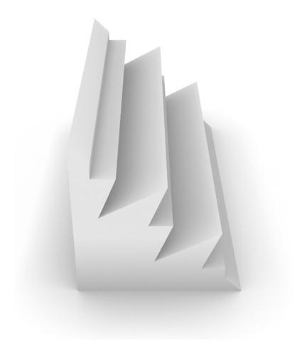 trampa de graves premium ignífuga alpine 200x200x610 blanca