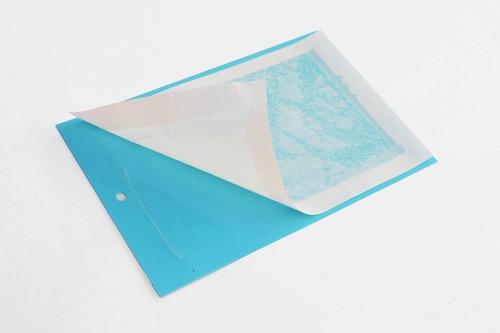 trampa insectos 10 unidades azul 20x25cm