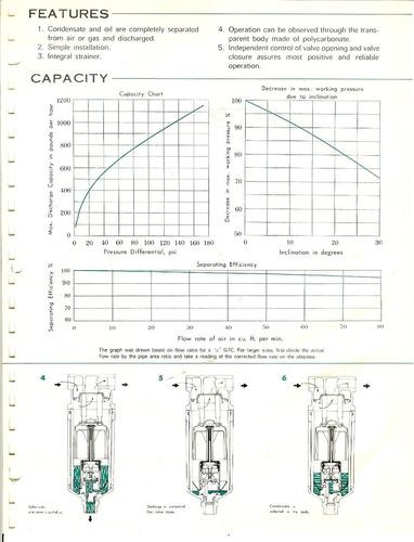 trampa para aire comprimido marca tlv modelo g7c de 3/8