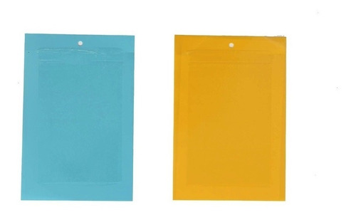 trampa para insectos azul 20x14cm x10 unidades