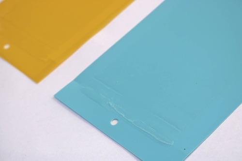 trampa para insectos x2 unidades amarilla + azul 20x14cm